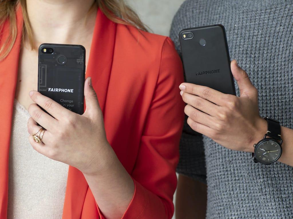 Größe des Fairphone 3 Plus Smartphones