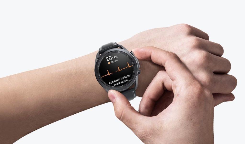 Galaxy Watch 3 LTE 41mm am Handgelenk