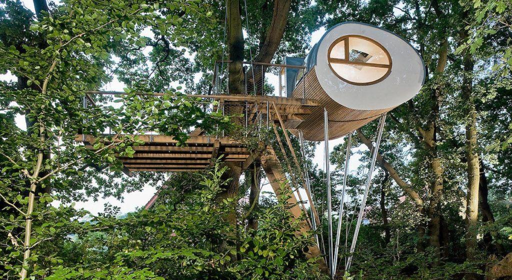Luxusbaumhaus Djuren in Gross-Ippener