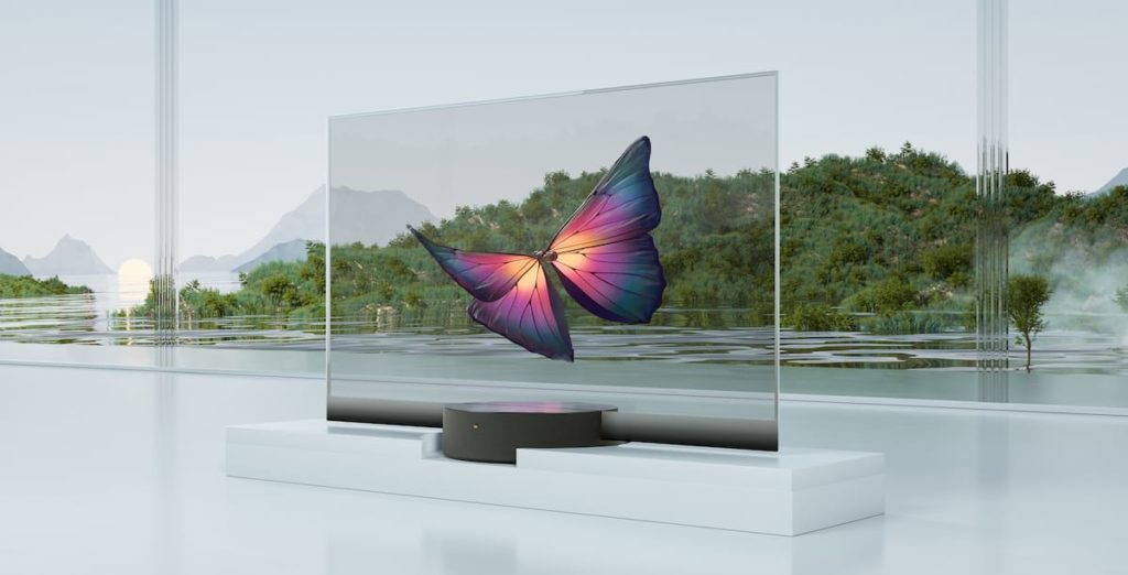 Xiaomi Mi TV LUX Transparent Edition OLED-TV