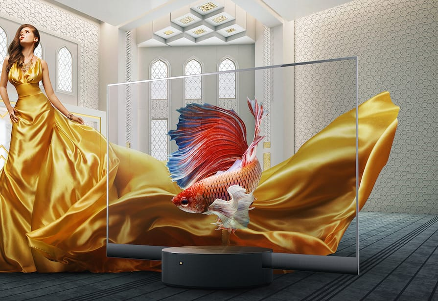 OLED Xiaomi Mi TV LUX Transparent Edition