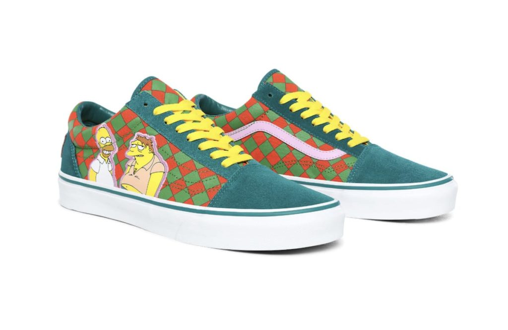 THE SIMPSONS X VANS MOE'S OLD SKOOL SCHUHE