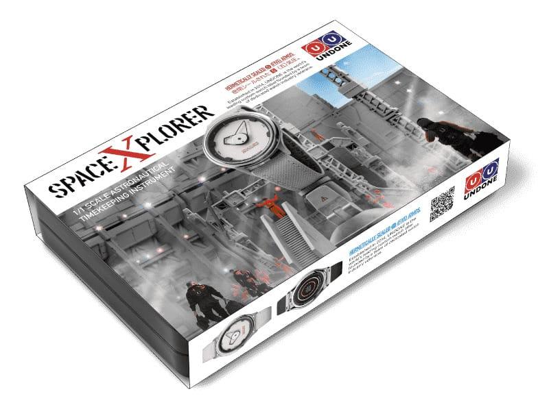Verpackung der UNDONE Space Xplorer Uhr