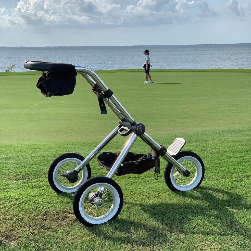Der Walker Trolley Golfwagen