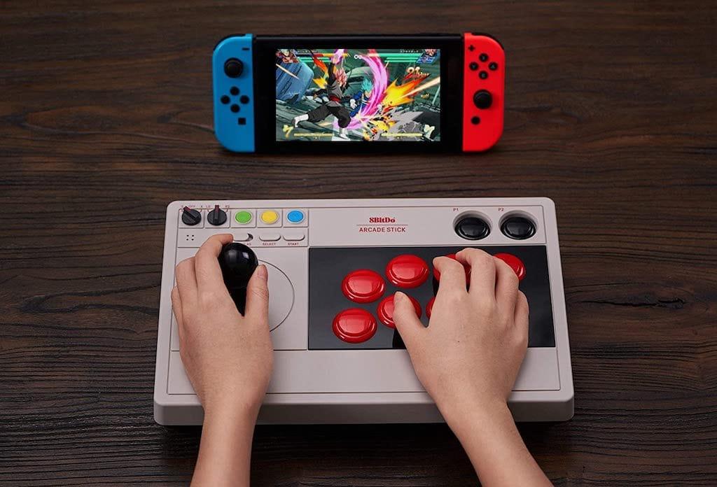 8BitDo Arcade Stick und Nintendo Switch