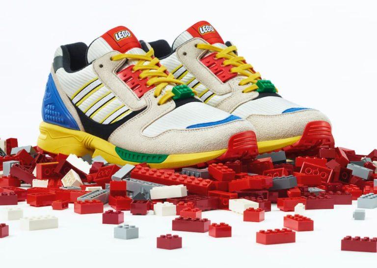 Der Adidas-Lego Sneaker ZX 8000