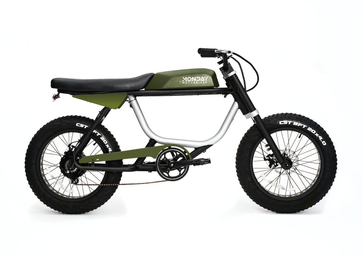 Anza Motorbike 750W in Hunter Green