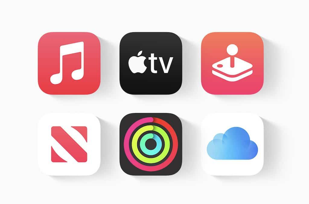Übersicht der Apple One Services