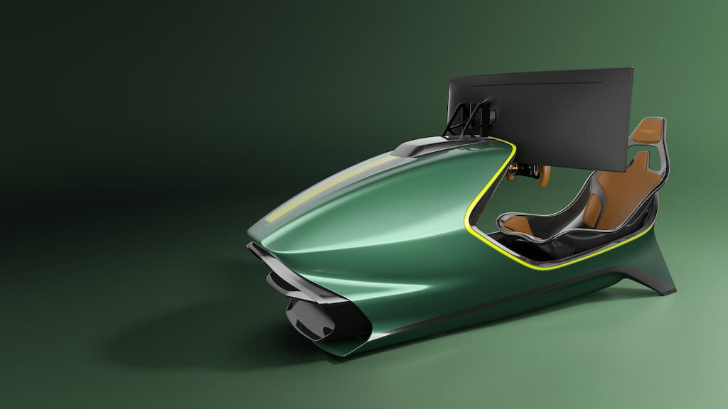 Aston Martin Rennsimulator