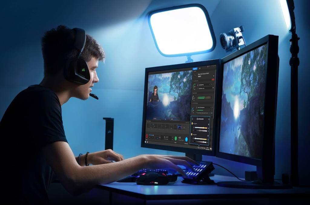 Elgato Ring Light beim Gaming