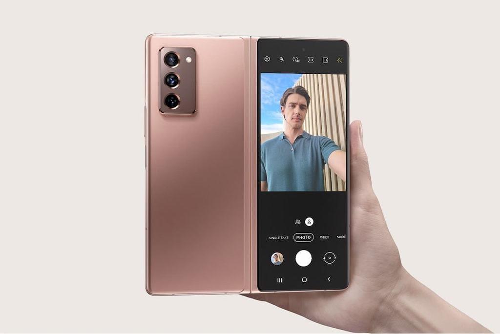 Abbildung des Galaxy Z Fold2 5G Smartphone