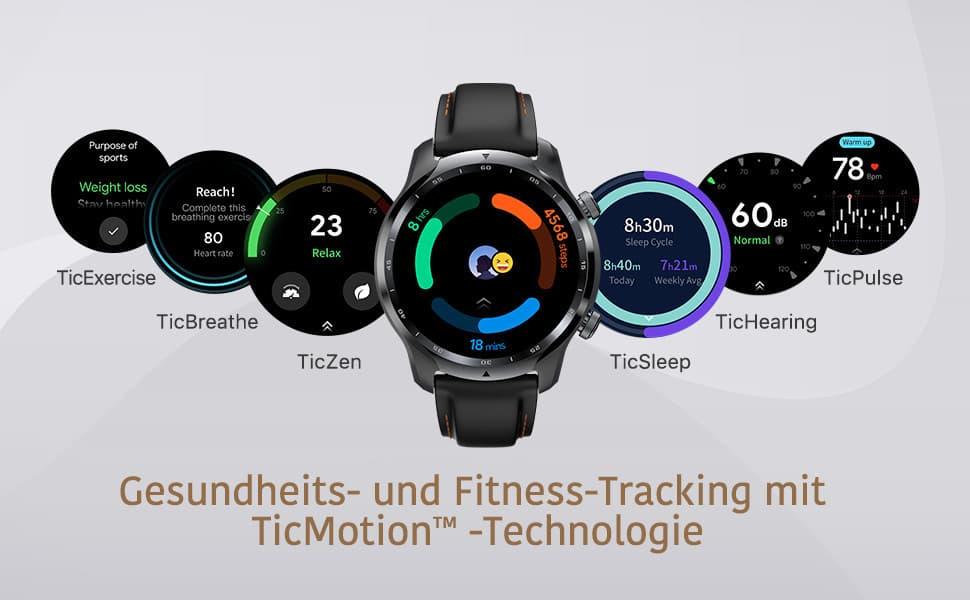 Gesundheits- und Fitness-Tracking mit TicMotion Technologie