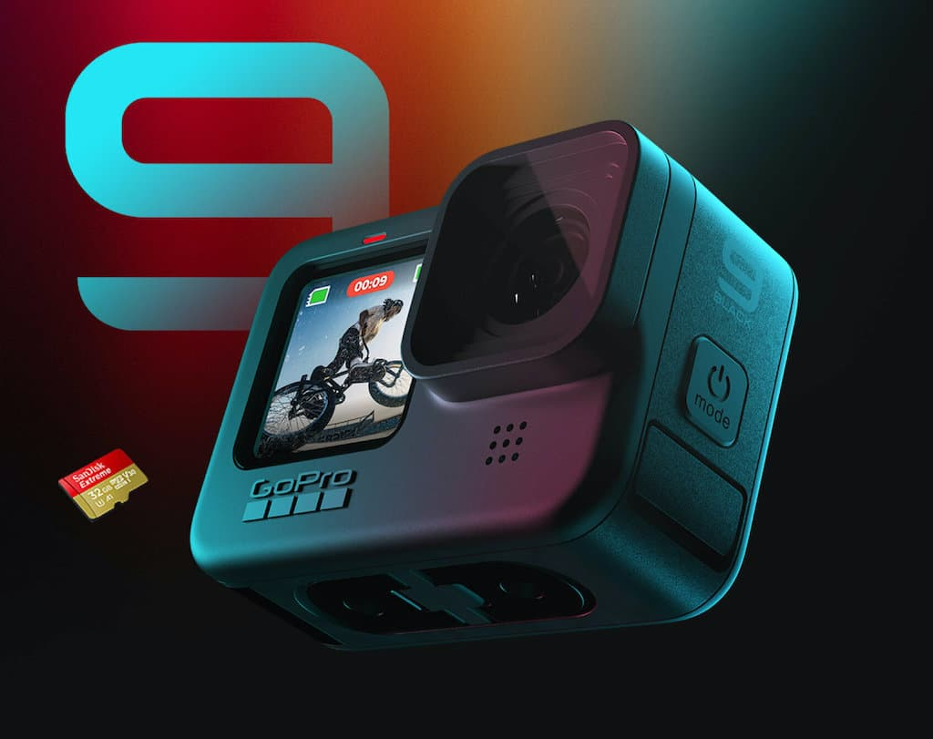 Action-Kamera GoProHero9Black 5K