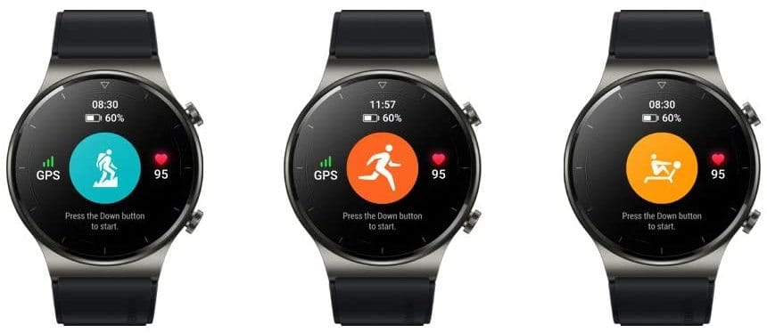 Huawei Watch GT 2 Pro 100+ Trainingsmodi