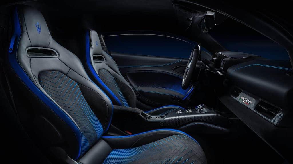 Cockpit und Interior des Maserati MC20