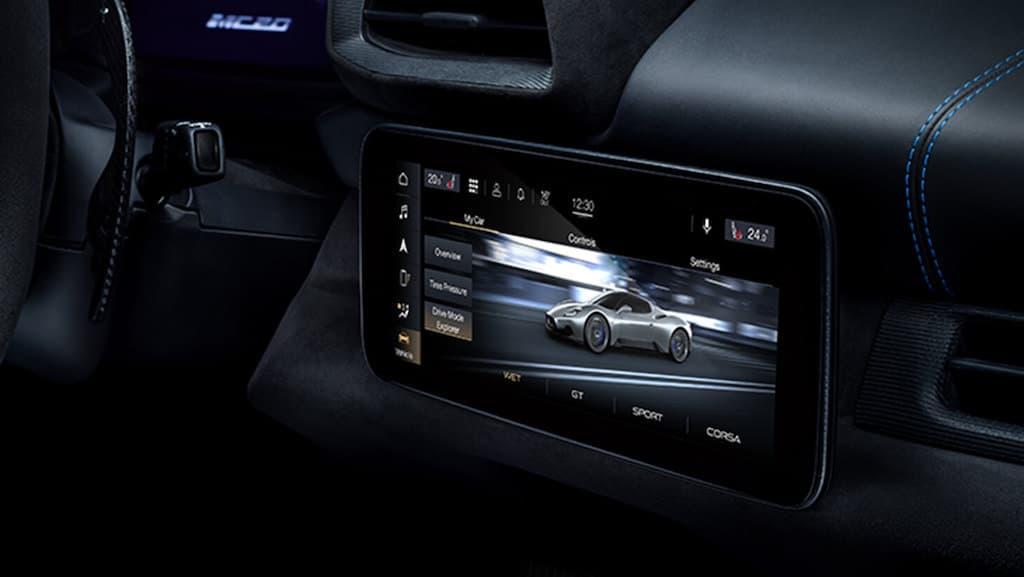 Maserati MC20 Infotainment-System