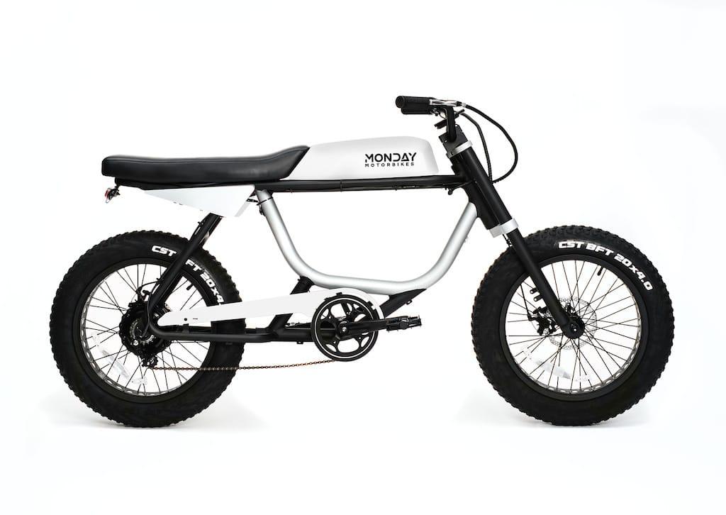 Anza Elekto-Moped von Monday Motorbikes
