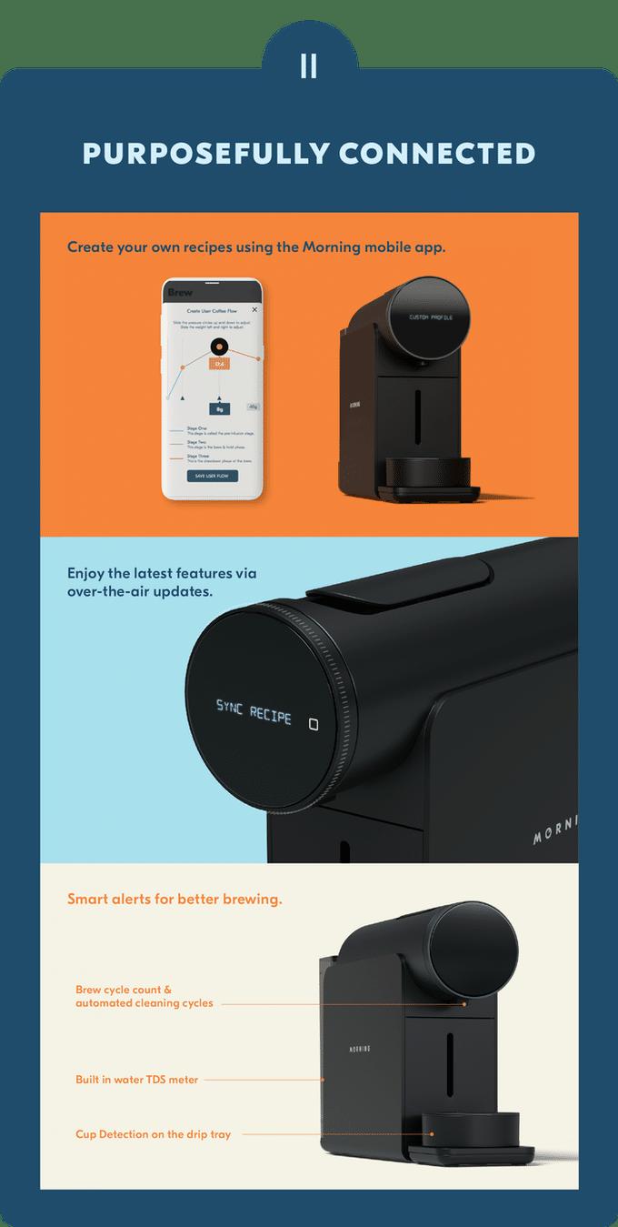 Morning Machine und Smartphone App