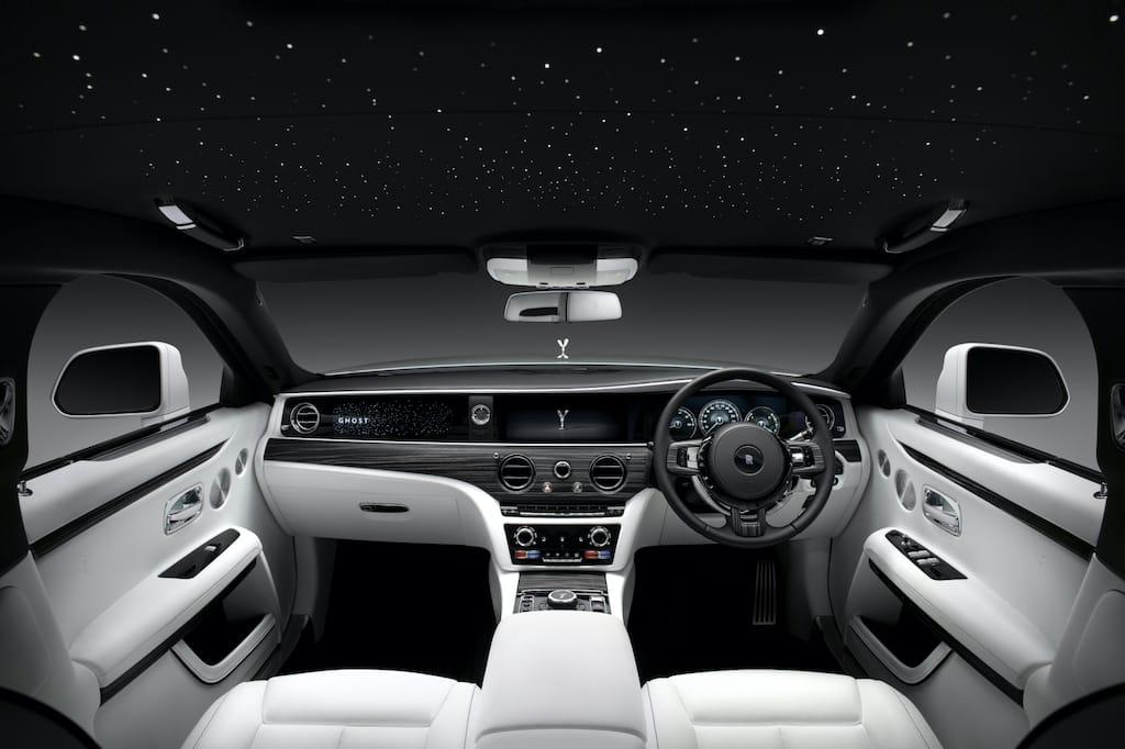 New Rolls-Royce Ghost 2021 Interior