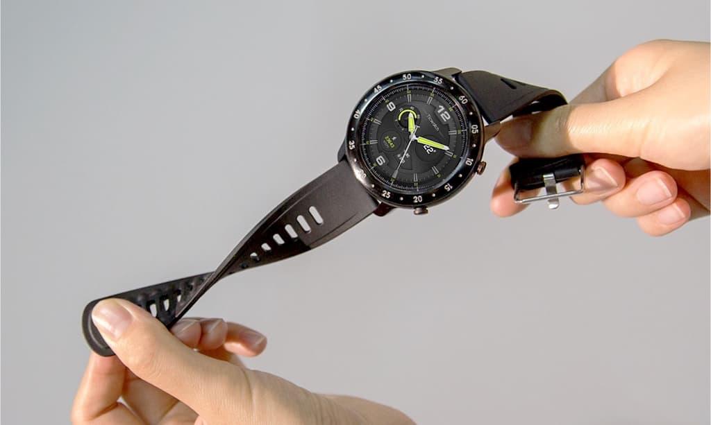 TicWatch GTX - komfortables Watch Band