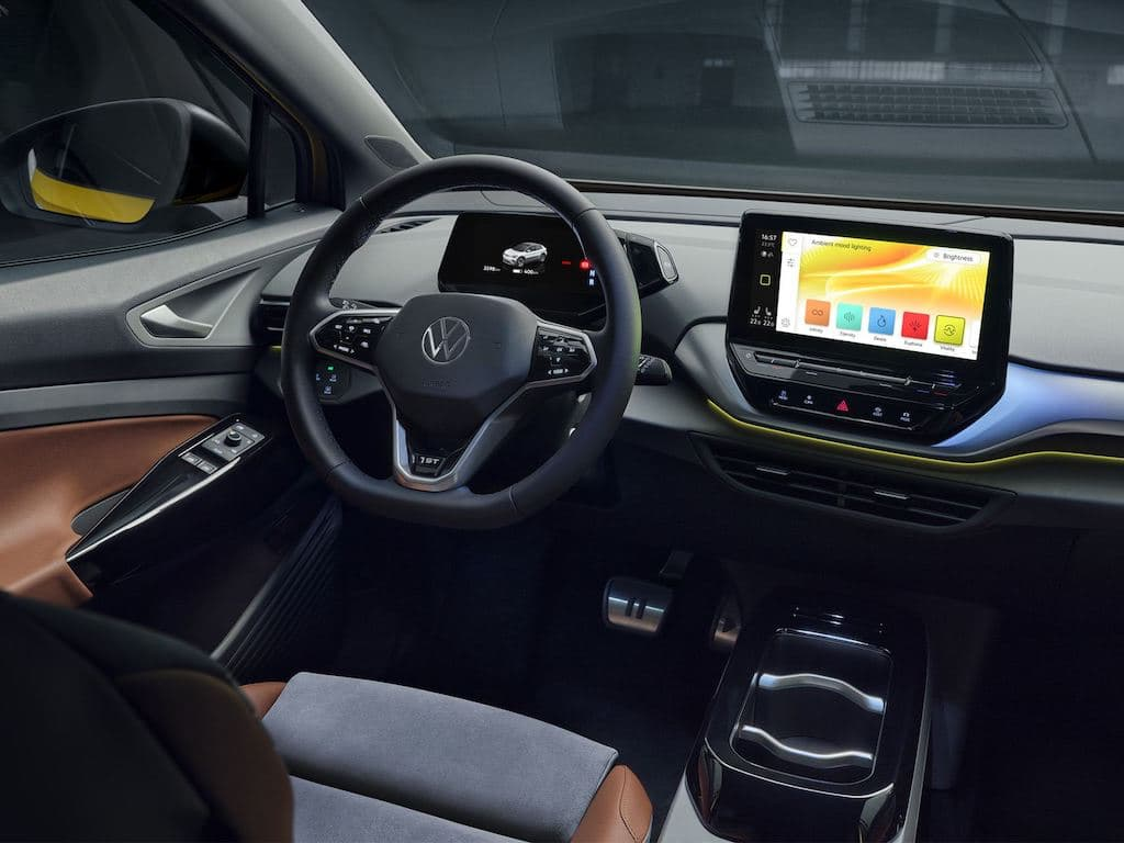 VW ID.4 Interieur Open Space
