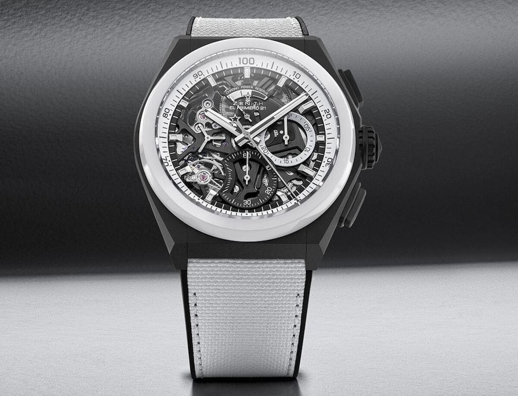 Defy El Primero 21 Black & White