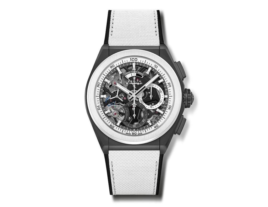 Zenith Defy El Primero 21 Black & White Chronograph