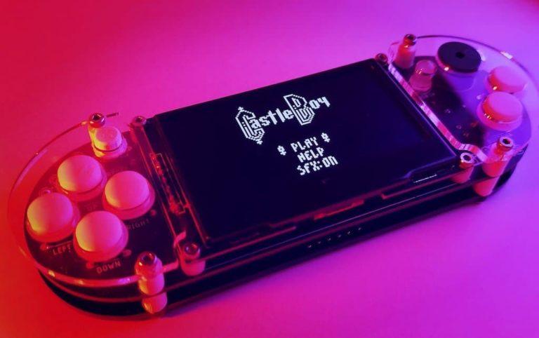 8BitCADE XL DIY Spielekonsole