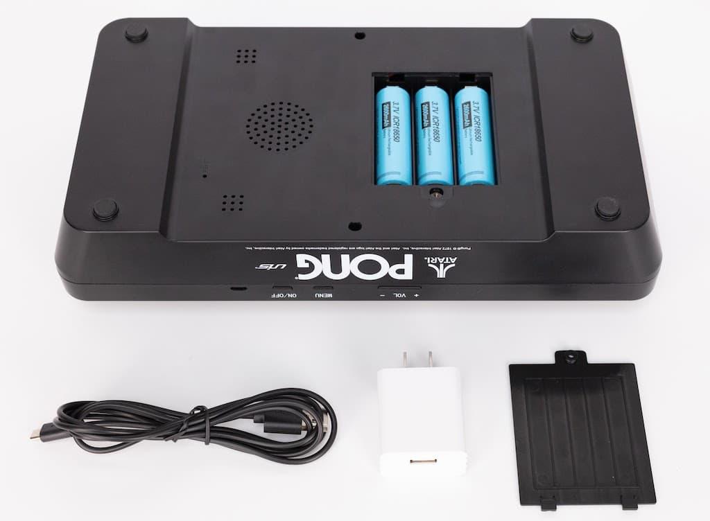 Batteriefach des Atari Mini Pong Jr
