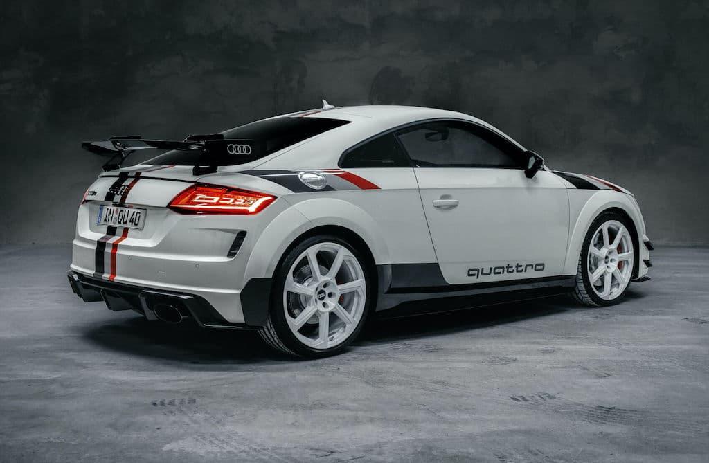 Audi TT RS 40 Jahre quattro - Seitenansicht