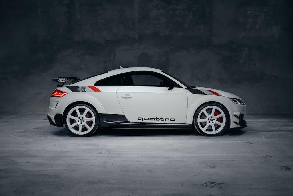 Sondermodell Audi TT RS 40 Jahre quattro