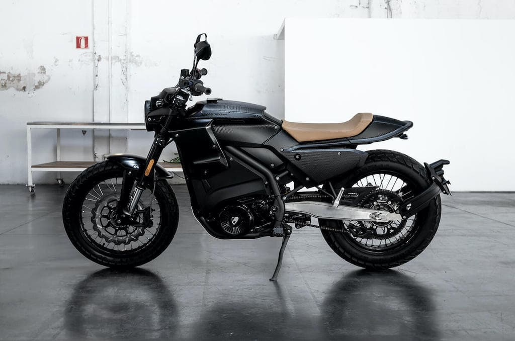 E-Track Elektro-Motorrad von Pursang