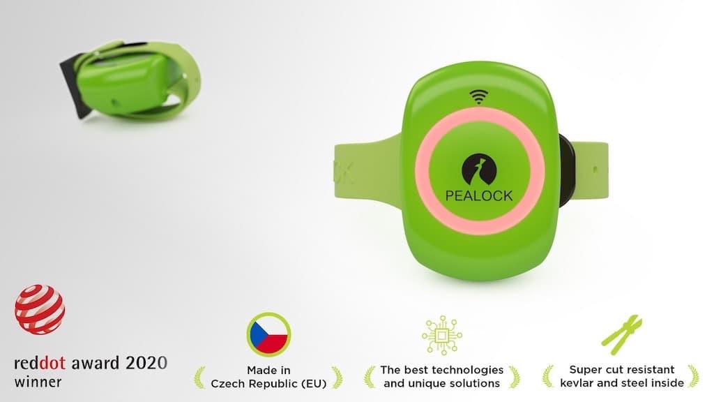 Pealock Schloss - Made in EU & reddot award 2020
