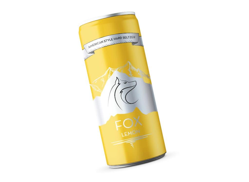 FOX Hard Seltzer - Geschmacksrichtung Lemon