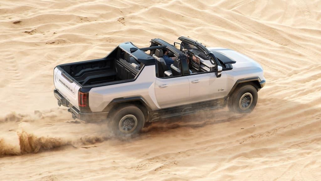 Supertruck GMC Hummer EV