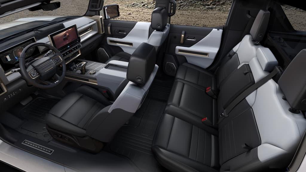 GMC Hummer EV Cockpit und Interior