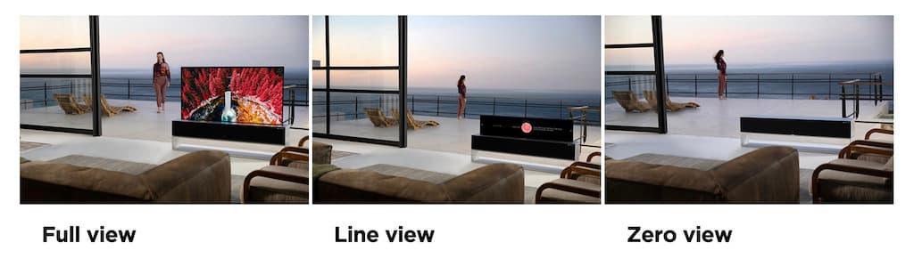 LG OLED TV RX: Full-, Line- und Zero-View