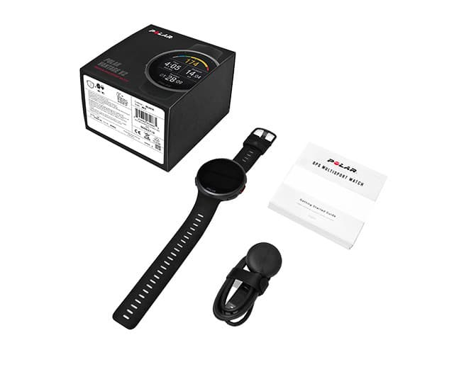 Lieferumfang der Polar Vantage V2 Smartwatch