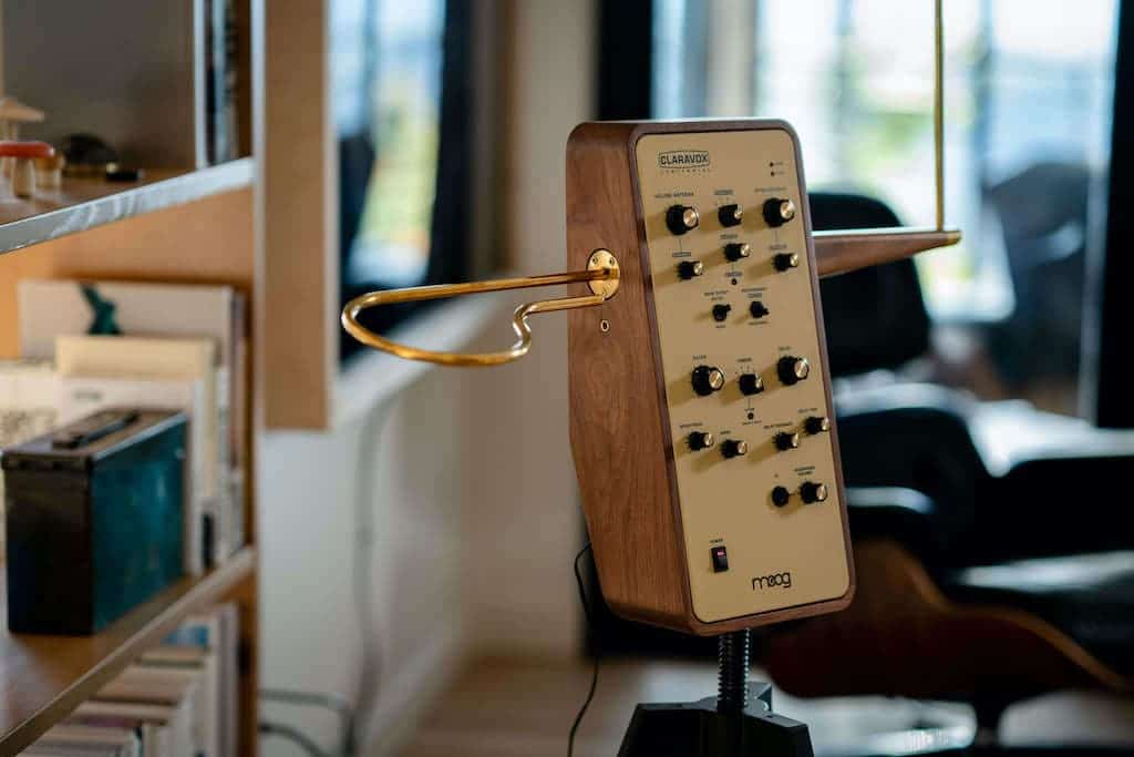 Elektronische Musikinstrumennt Claravox Centennial von moog