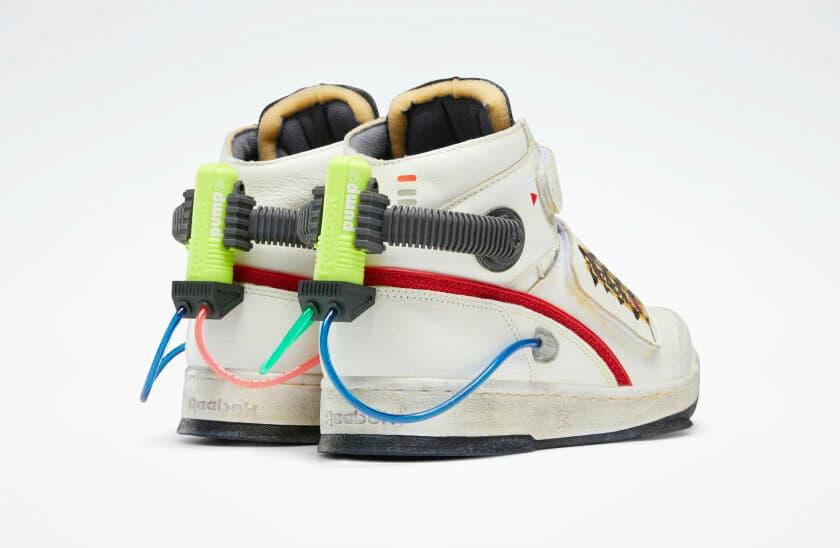 Reebok Ghost Smashers Schuh - Fersenansicht