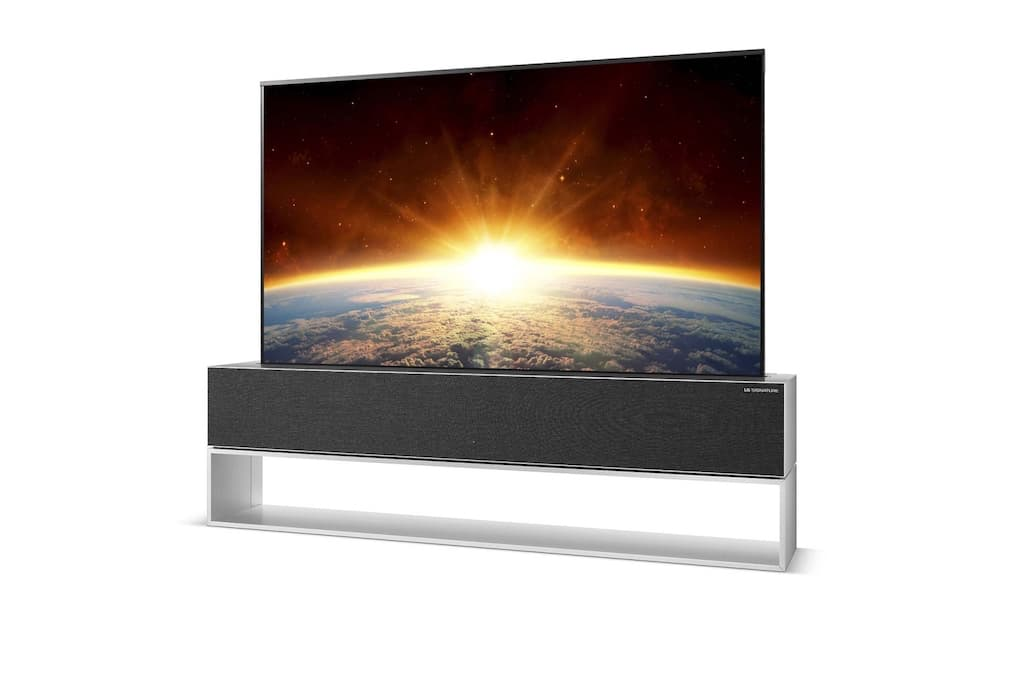 LG SIGNATURE OLED TV RX - 4K HDR Smart TV