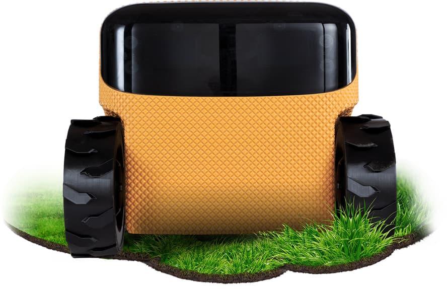 Der Rasenmähroboter Toadi