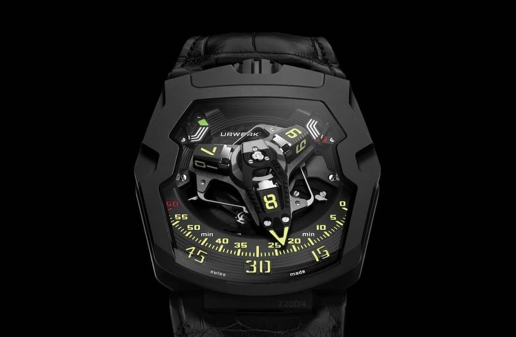 Urwerk UR-220 All Black Edition