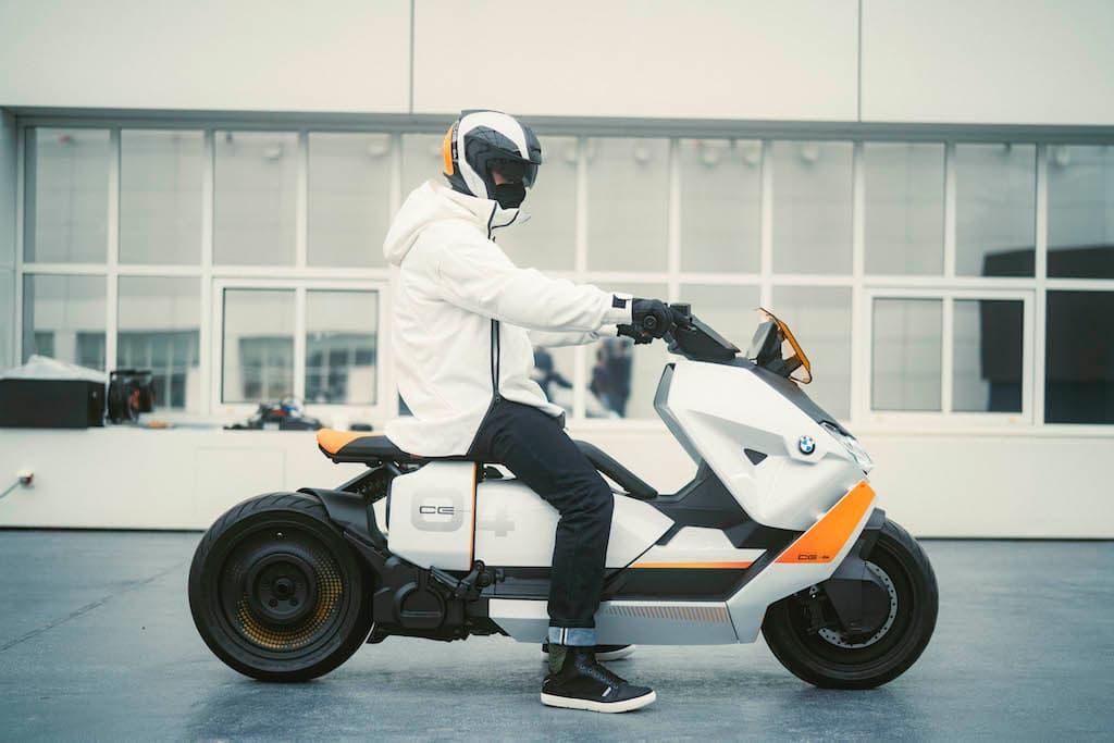 BMW Motorrad Definition CE 04 - Scooter oder Elektro-Motorrad?