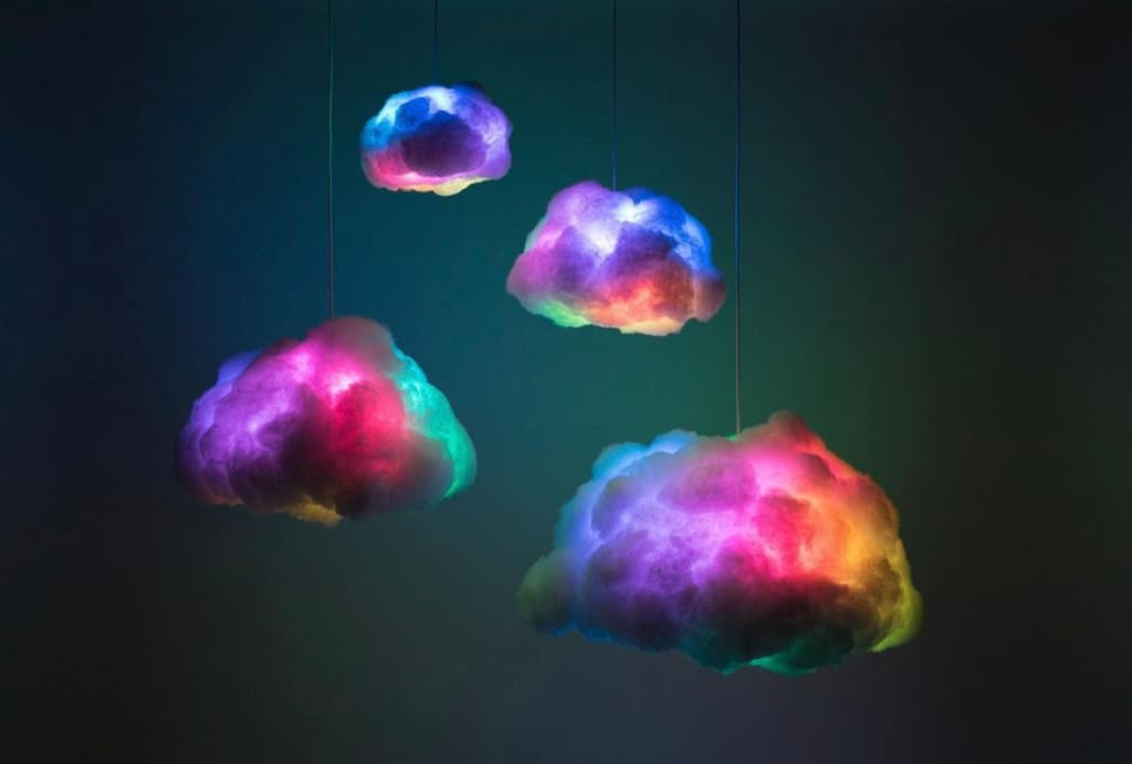 Cloud Lampen - INTERACTIVE CLOUD