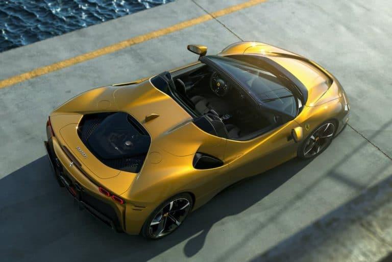 Ferrari SF90 Spider Supercar 2020