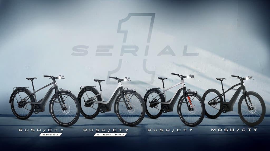Serial 1 eFahrräder von Harley-Davidson
