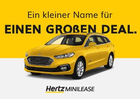 Hertz Minilease Werbung