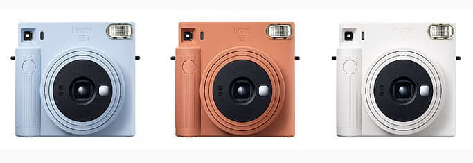 Farben der instax Square SQ1 Kamera