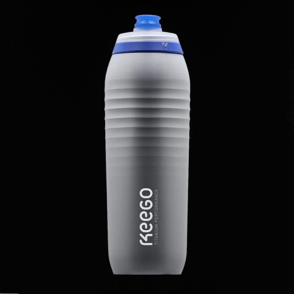 Keego Sportflasche in der Farbe Silver Stardust